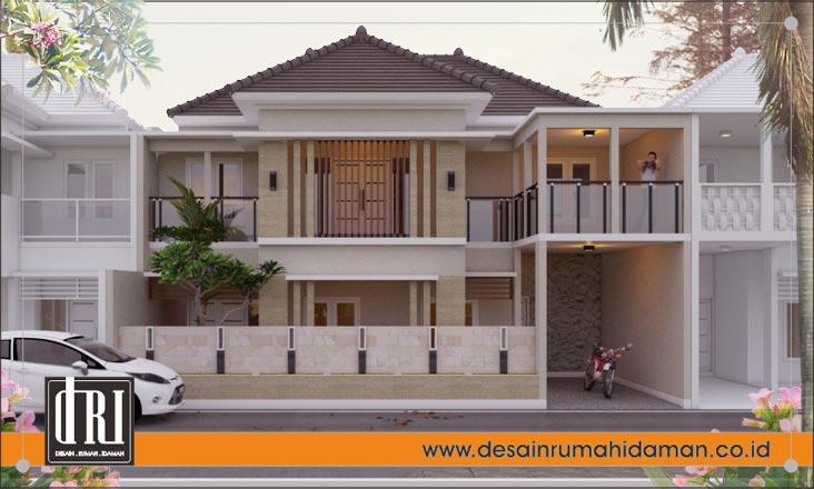 Contoh Renovasi Rumah 1 Lantai Menjadi 2 Lantai Di Ciputat, Jakarta