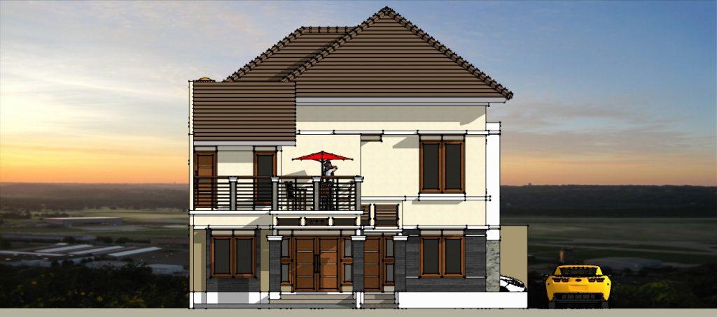Desain, Gambar dan Denah Rumah dan Klinik di Jakarta Selatan