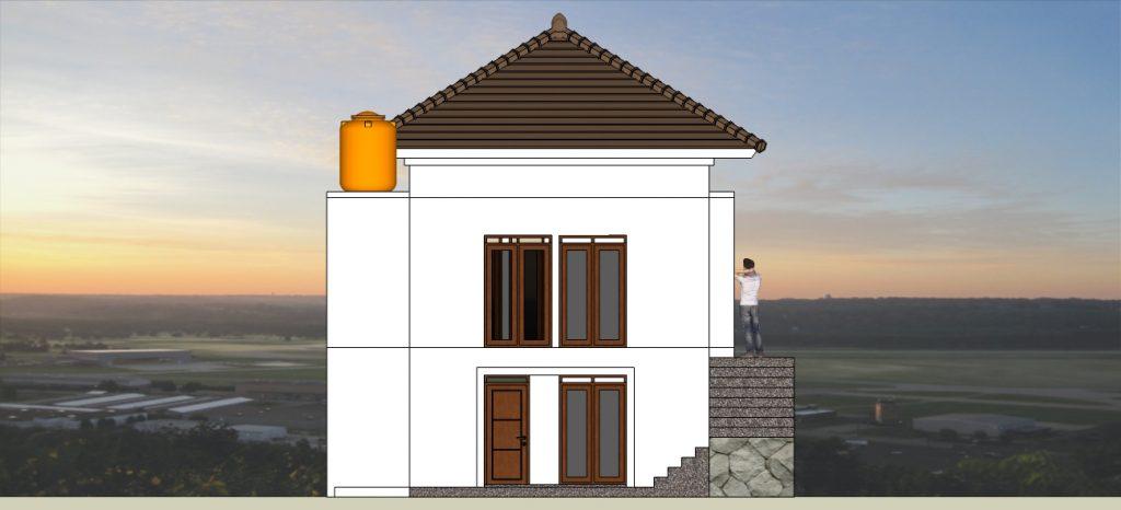 Desain Rumah Lahan Berkontur dan Tidak Rata di BANDUNG