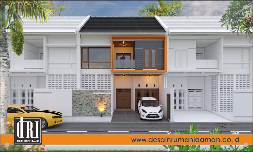 tampak depan rumah modern minimalis