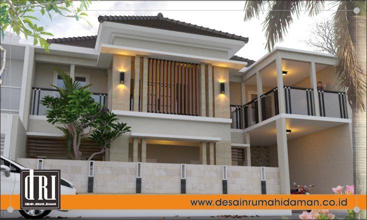 Contoh Renovasi Rumah 1 Lantai Menjadi 2 Lantai Di Ciputat Jakarta Desain Rumah Idaman