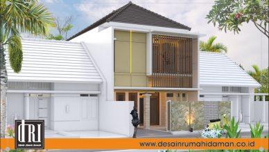 1. Fasad 3D Rumah Mr. Ilo Makassar