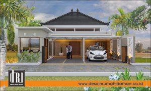 desain renovasi rumah Bapak Irwan
