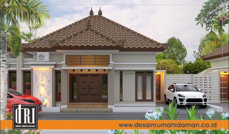 desain perumahan gaya Bali