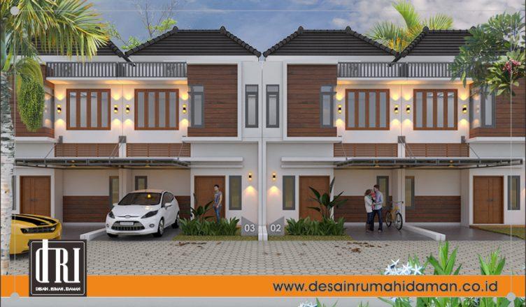 desain perumahan di lahan sempit