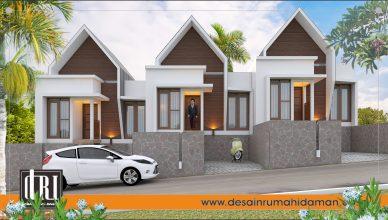 perumahan konsep villa
