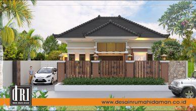 Desain Rumah Gaya Bali
