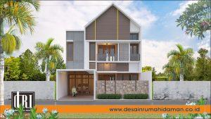 rumah mewah bergaya modern tropis, Jogjakarta